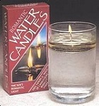 Floating oil candle kit