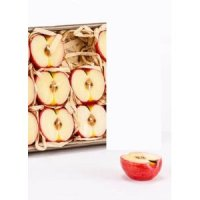 Candle apple slices