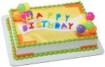 Birthday cake decorating kit