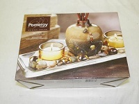 Pomeroy fragrance candle tray with reed diffuser