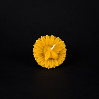 Beeswax sunflower floating candle