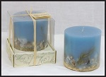 Scented seascape candle
