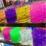 Water beads vase fillers - Pack of 12 colors
