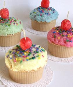 Downloadable Instructions For Cupcake Candles