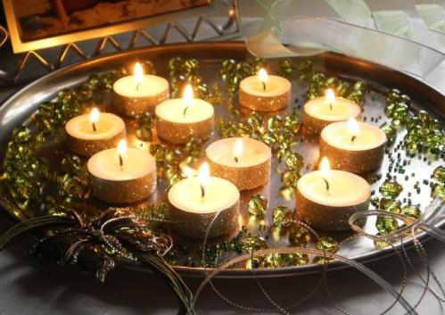 Non Flower Centerpieces With Candles